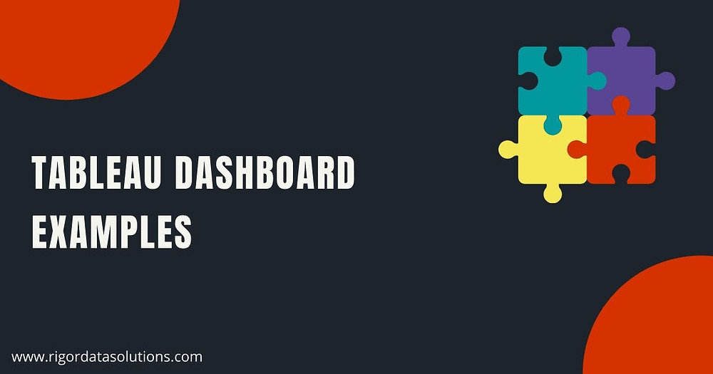 Examples of Tableau dashboards
