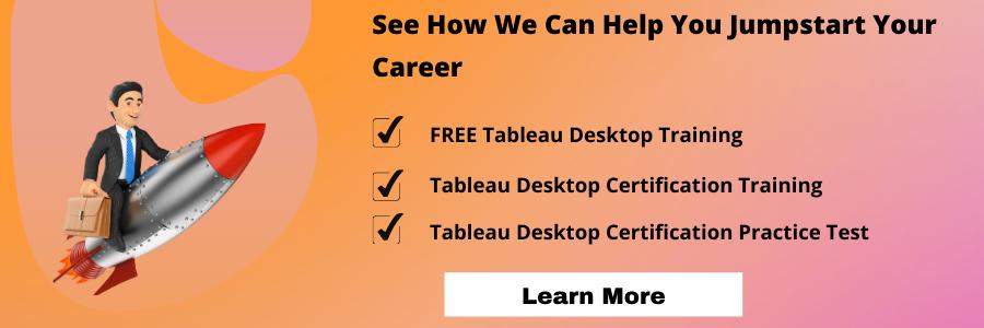 Tableau desktop online courses