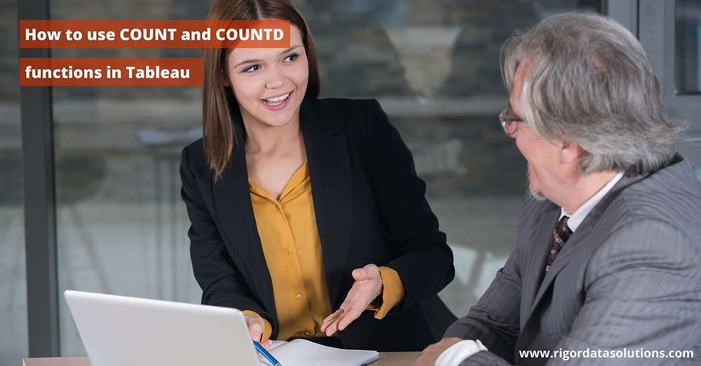 count versus count distinct in Tableau