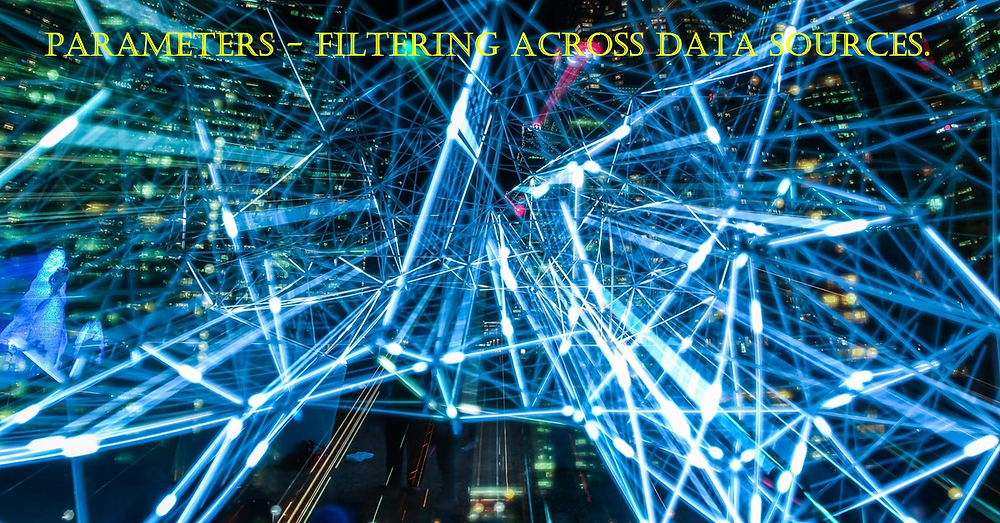 Tableau parameters in filtering across data sources