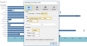 adding tableau reference line