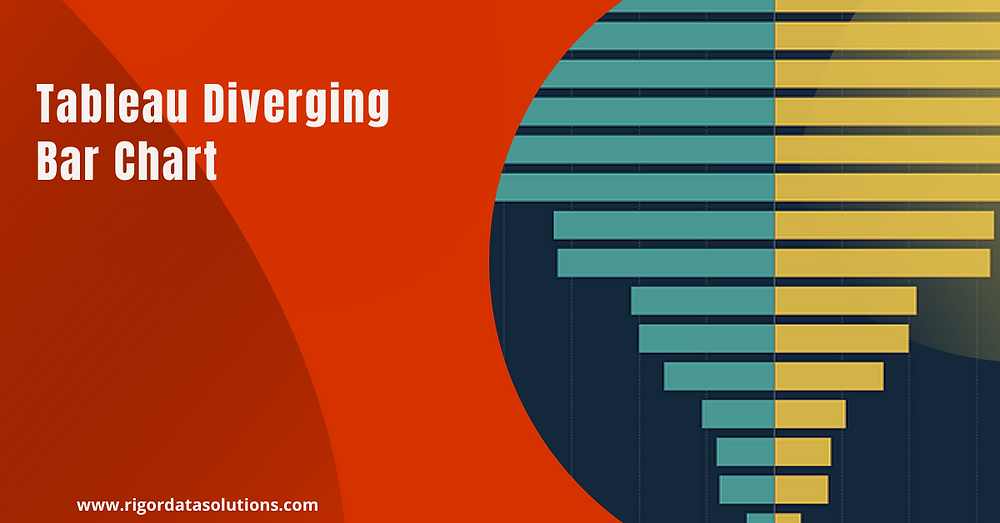 Diverging bar chart in Tableau