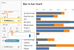 sizzling chart in tableau