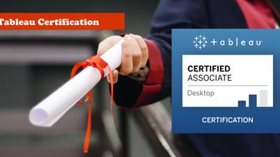 Tableau Certification [Ultimate Guide]