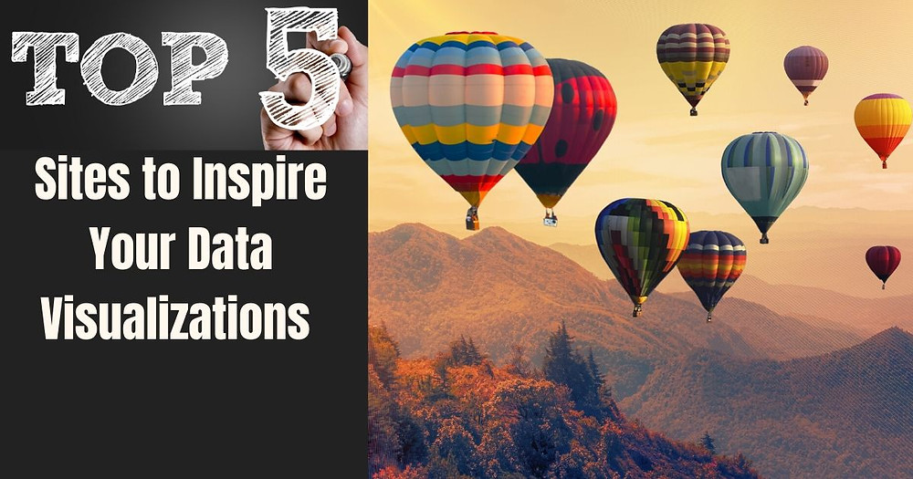 Top sites to inspire your data visualization skills