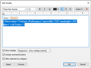 resizing tableau viz in tooltip
