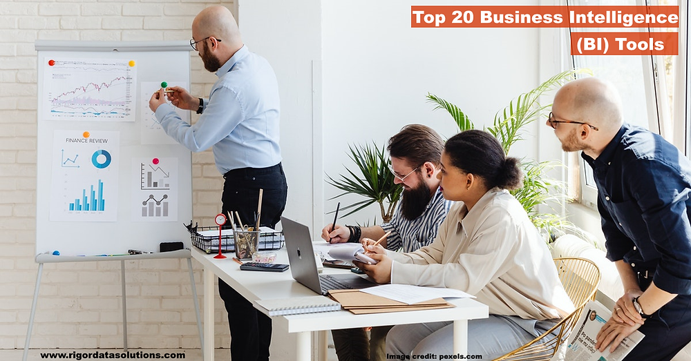 top 20 business intelligence (BI) tools ultimate guide
