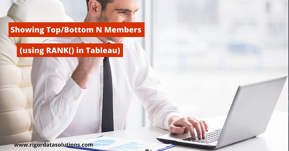 top and bottom n members of a dimension in Tableau