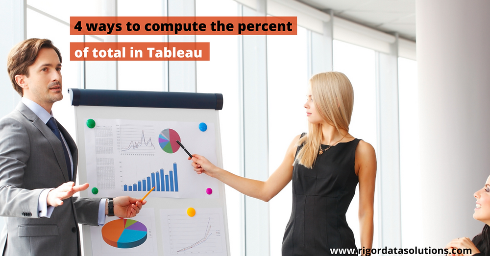 four ways you can compute the percent of total in tableau