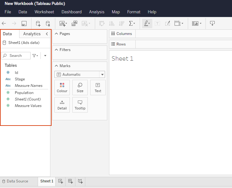 creating vizzes with the new tableau public web authoring feature