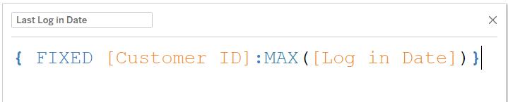 computing last login date