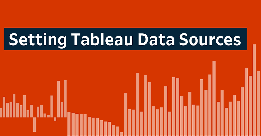 tableau data sources