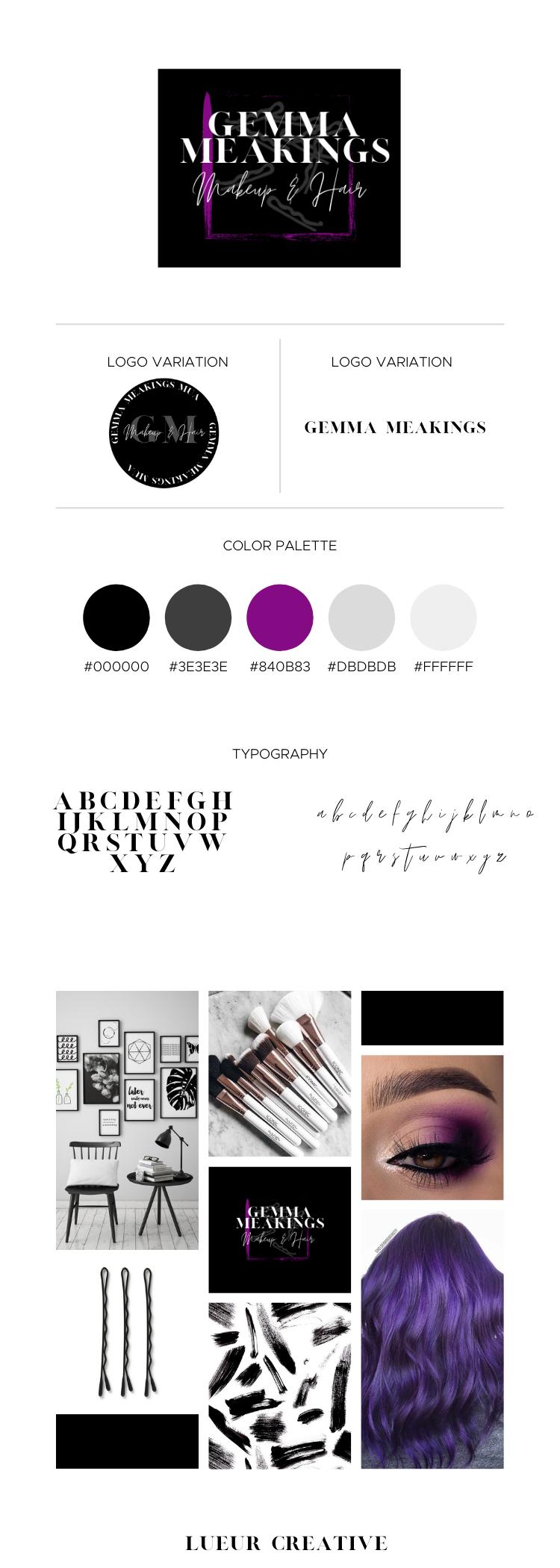 Makeup Artist Branding
