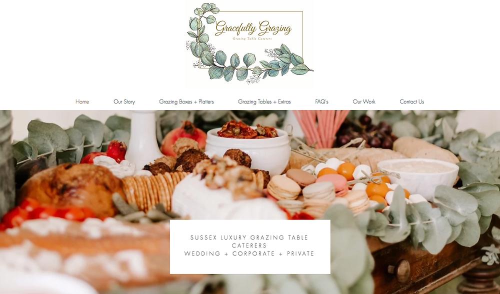 Catering Website Design