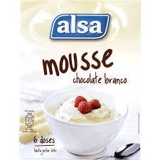 Mousse Chocolate Branco