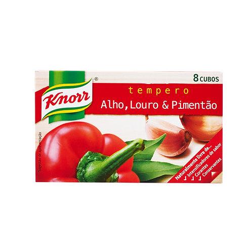 Knorr Alho Louro e Pimentão 8 Cubos