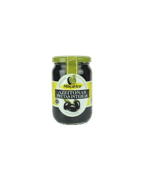 Maçarico Azeitonas Pretas Inteiras 210 gr