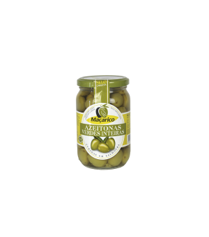 Maçarico Azeitonas Verdes Inteiras 210 gr