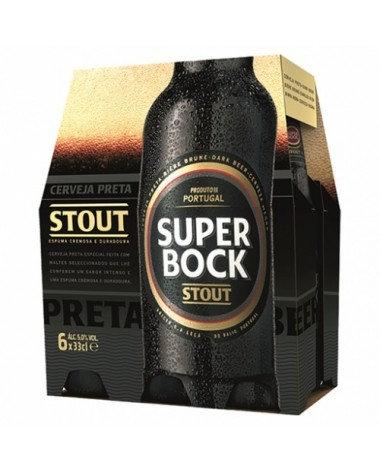 Super Bock Preta 6x33 cl
