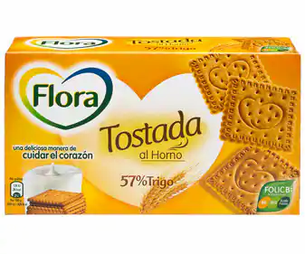 Flora Tostada 450gr