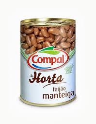 Feijão Manteiga Lata 410 gr