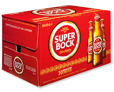Super Bock Branca 24x33 cl