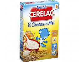 Cerelac 8 Cereais e Mel 250 gr