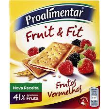 Fruit e Fit Frutos Vermelhos 148 gr