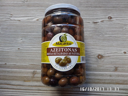 Azeitonas Mista Retalhada 800 gr