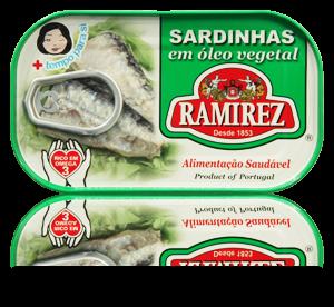 Sardinha Óleo Vegetal 125 gr