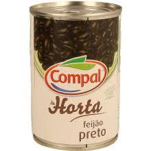Feijão Preto Lata 410 gr