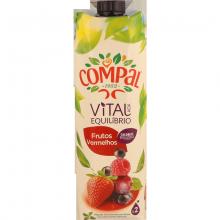 Compal Frutos Vermelhos Lt