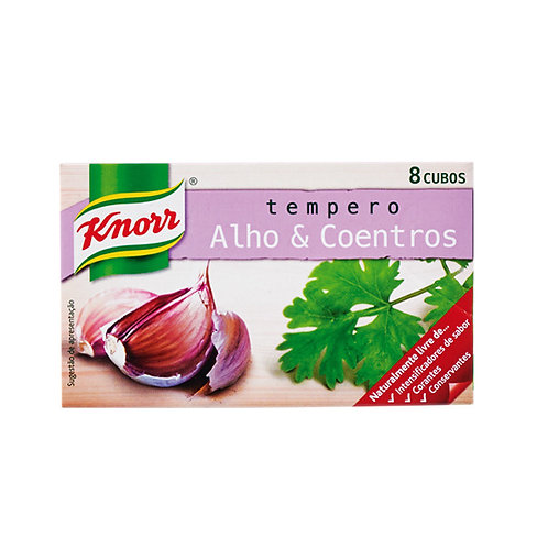 Knorr Alho e Coentros 8 Cubos
