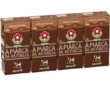 Leite Chocolate Agros 4x200 ml