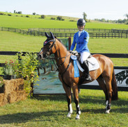 Zoe winning at Millbrook in 2013
