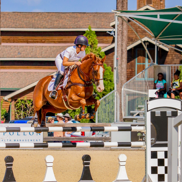 Polly at the 2019 Stable View CCI3*-S