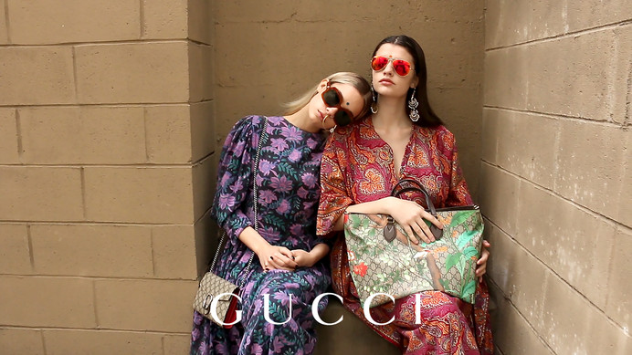 WRAPPED IN DESI GUCCI