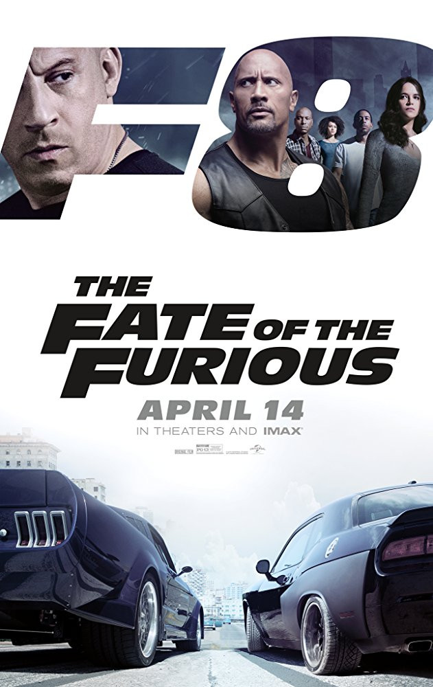 The Fate of the Furious poster