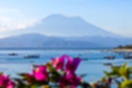 Island of Bali Mount Agung Sea beautiful love Indonesia