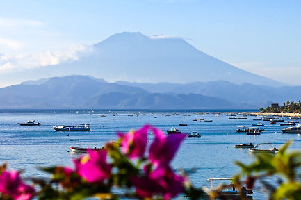 Island of Bali Mount Agung Sea beautiful love Indonesia