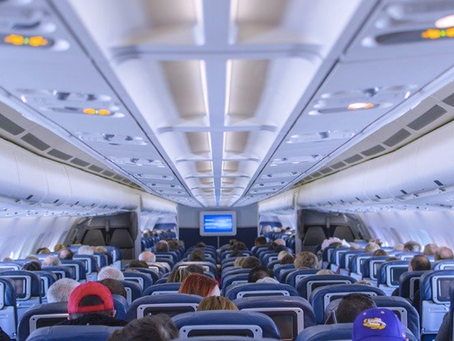 ¿Es seguro volar durante la epidemia de SARS-CoV-2?