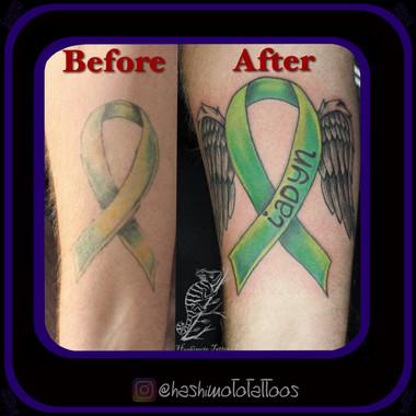 Tattoo by Amanda Hashimoto Pushing Inc Barrie
