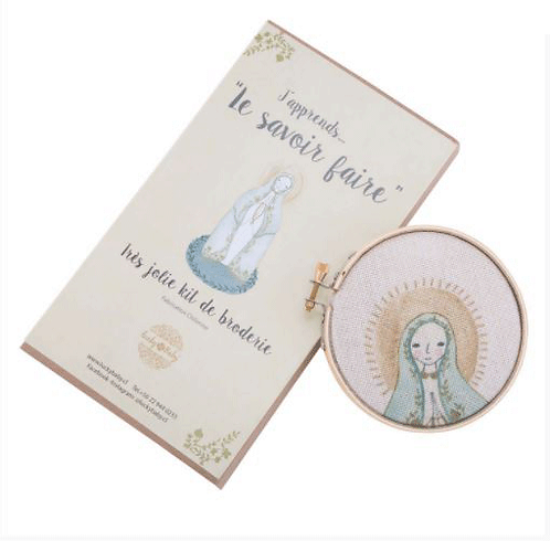 KIT DE BORDADO VIRGEN DE FATIMA