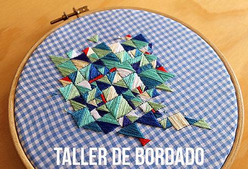 TALLER DE BORDADO/ CORRIENDO CON TIJERAS