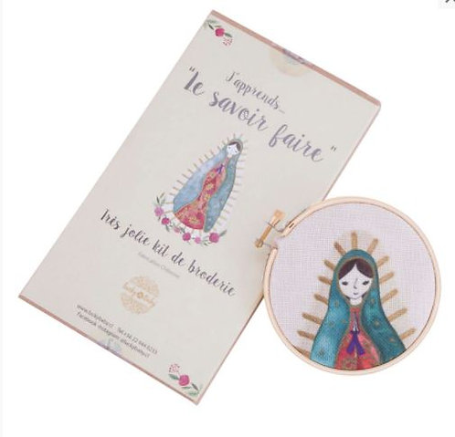 KIT DE BORDADO VIRGEN DE GUADALUPE