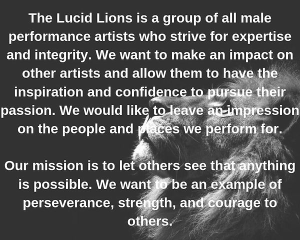 The Lucid Lions is a group of all male p