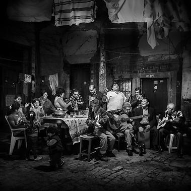 """Jarana"", Creole party in Lima"