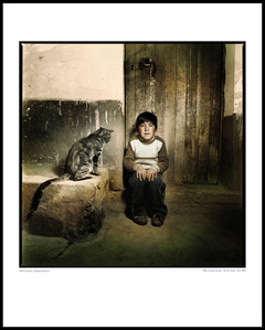 """Child with big cat"", 2007 / ""Light from within"" series"