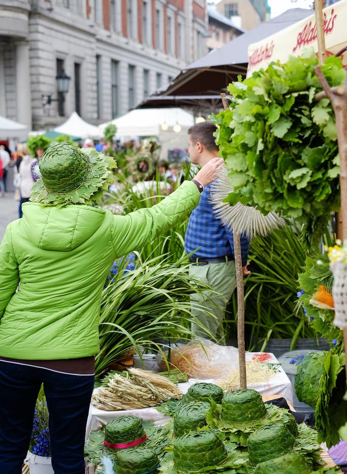 Riga Ligo market