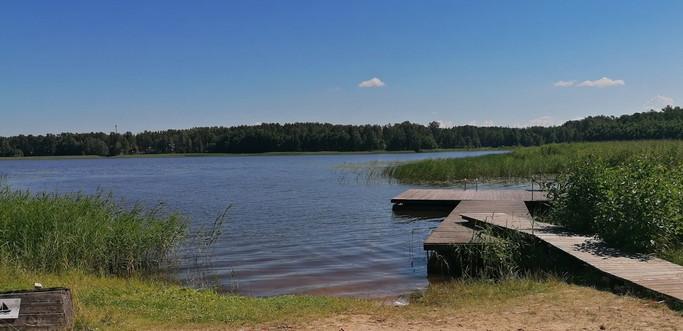 Daugava river - excursion by raft